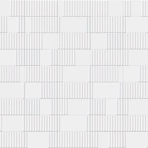 Flis Milvio Hvit Matt 10x20 cm
