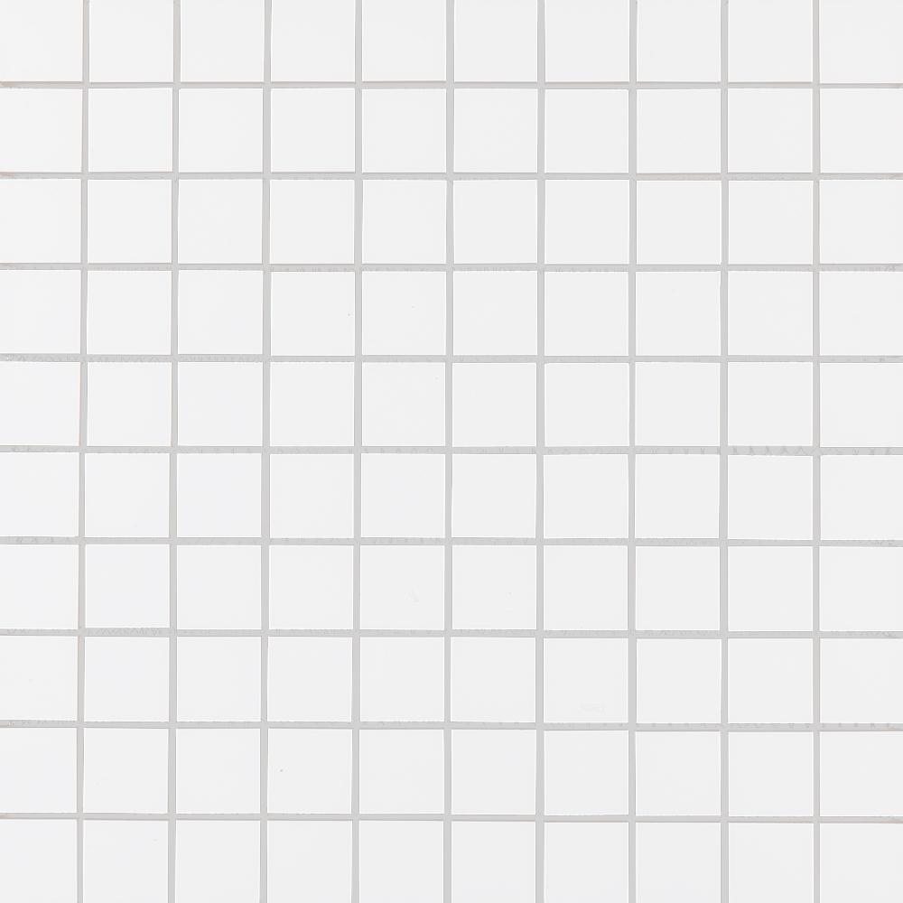 Mosaik Line Vit/Ret Blank 3×3 cm