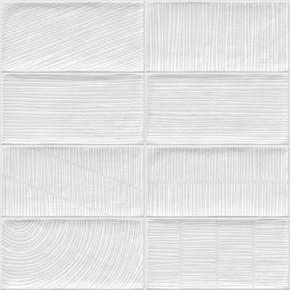 Flis Viet Hvit 10x20 cm