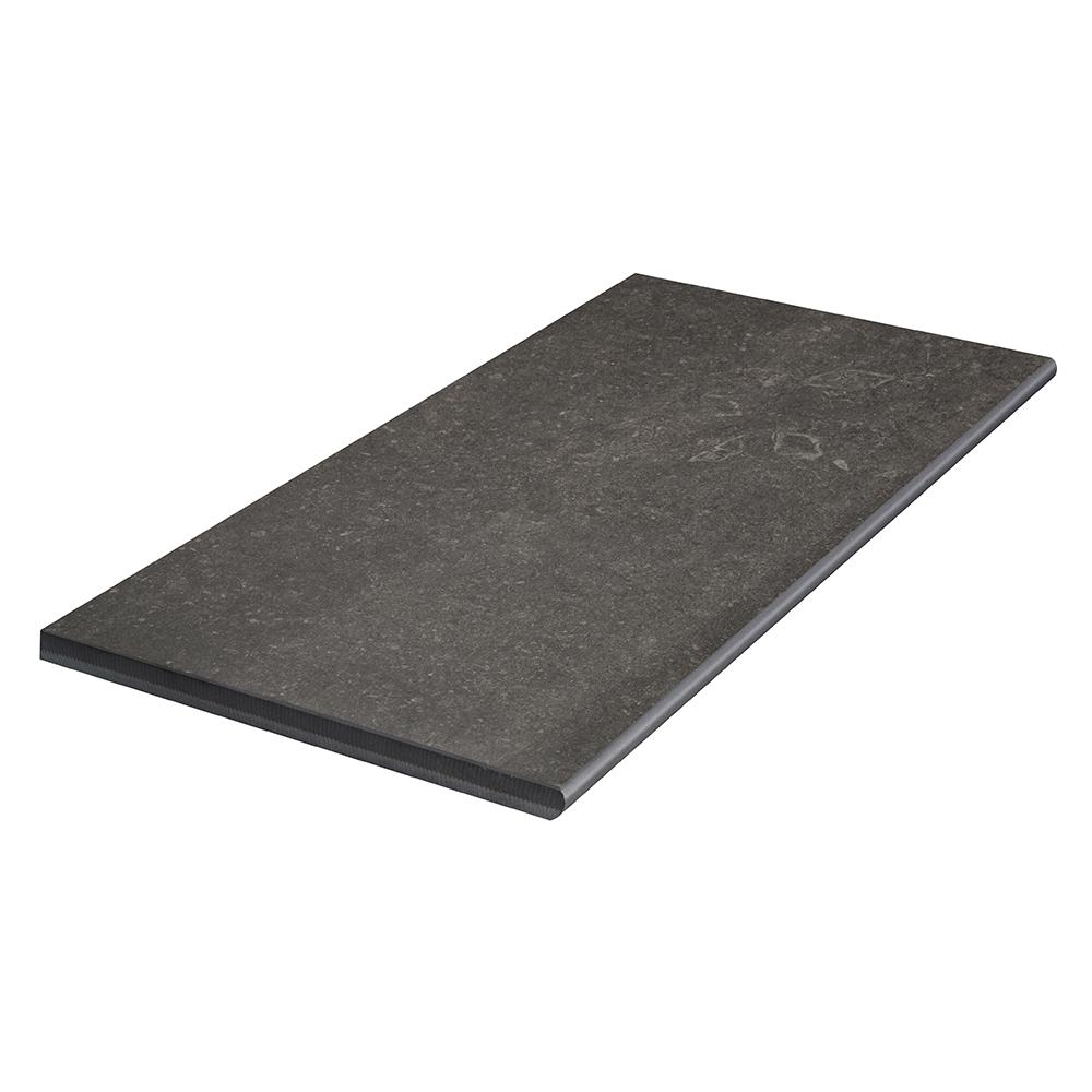 Klinker Bricmate Z Limestone Anthracite Poolside/step 30×60 cm