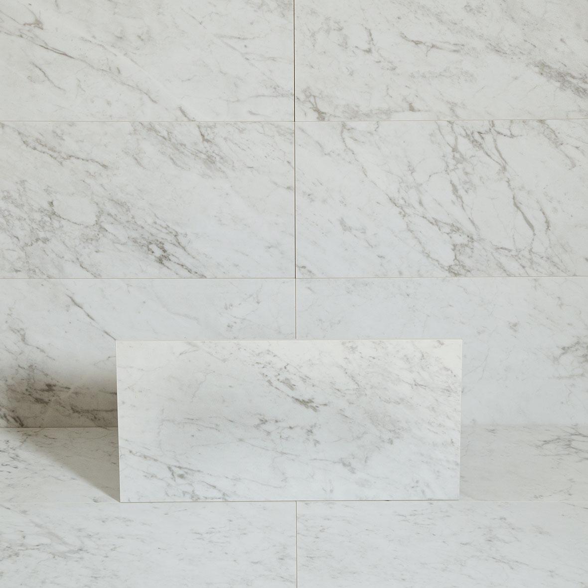 Klinker Coem Marmor B. Carrara Semipolaerad 30×60 cm