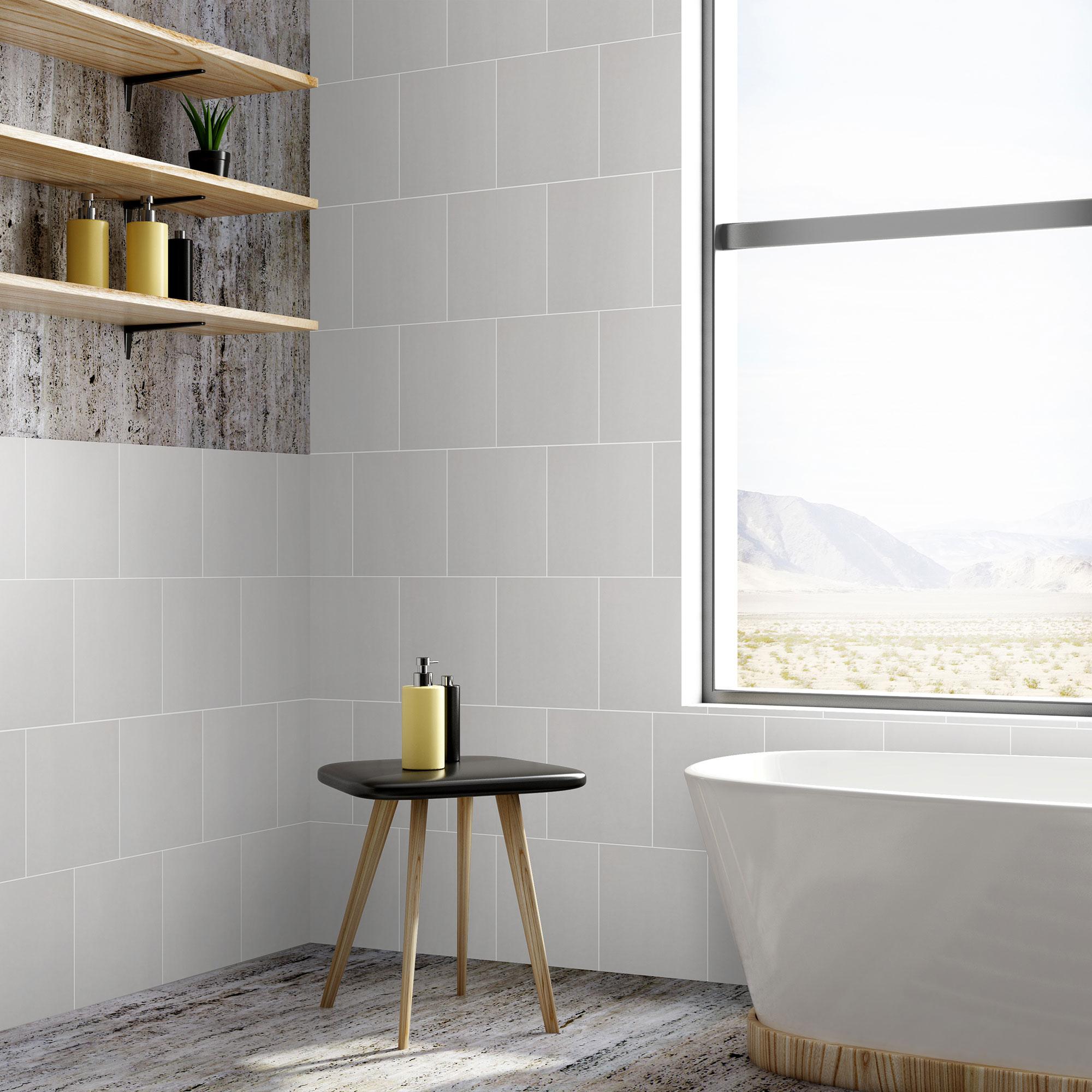Klinker Unicolor Light Grey 20×20 cm