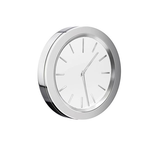Klocka Smedbo Time YX380 Krom/Vit