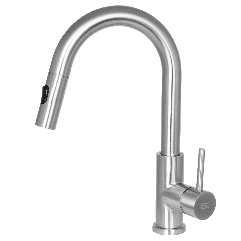 Köksblandare Strand Solid SO-1404 med Utdragbar Pip
