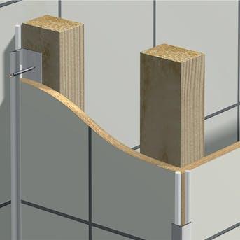Veggplater aluminium