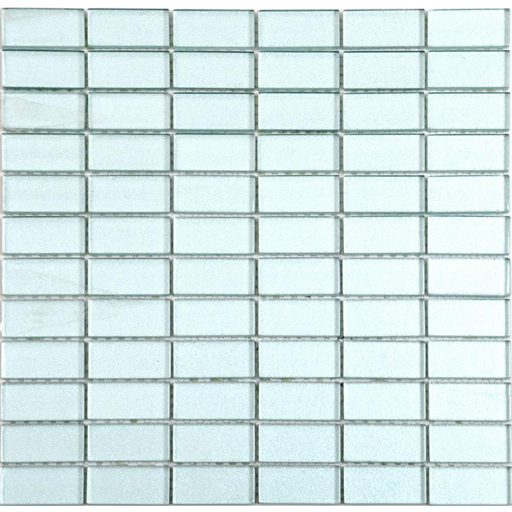 Kristallmosaik Arredo Blank Grå 2,3×4,8 cm