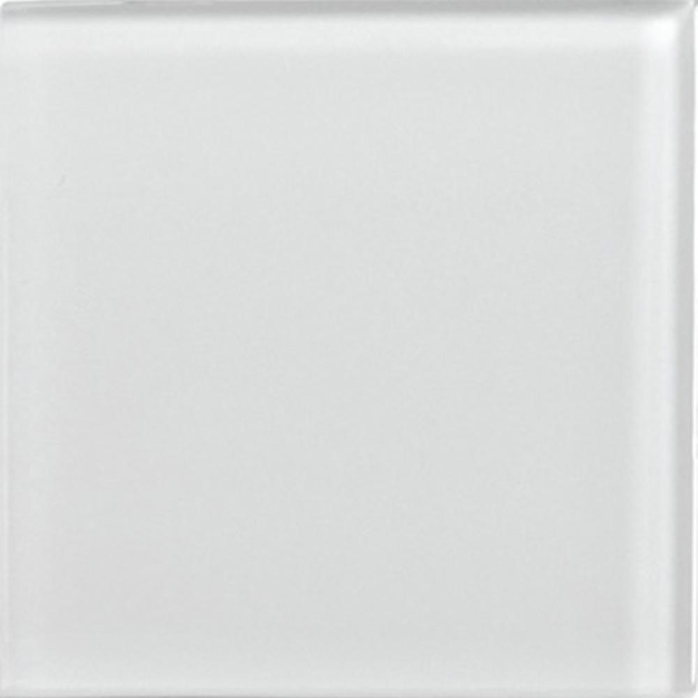 Kristallmosaik Arredo Matt Grå 10×10 cm