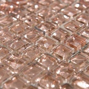 Krystallmosaikk Rose Gold 30x30 cm