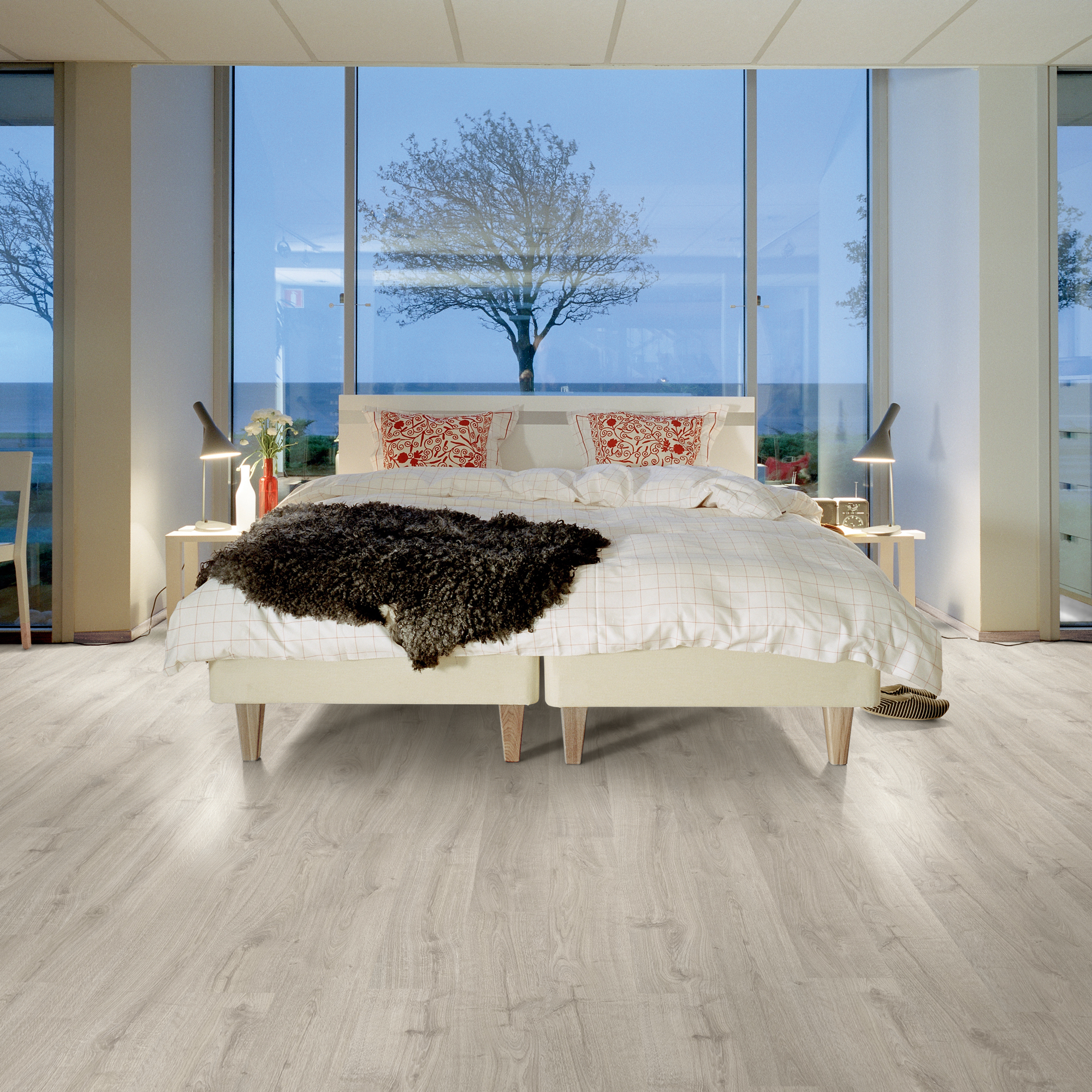 Laminatgolv Pergo Elegant Plank Rustic Grey Oak 1-Stav