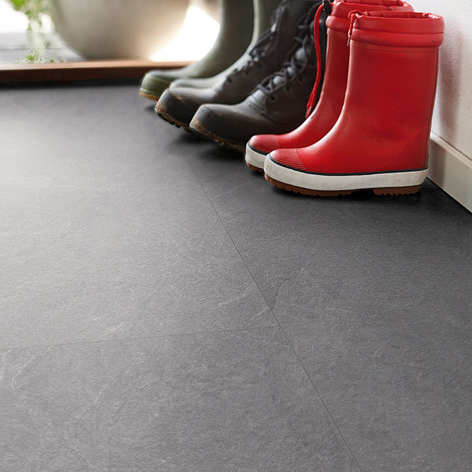 Laminatgolv Pergo Big Slab 4V Light Grey Slate