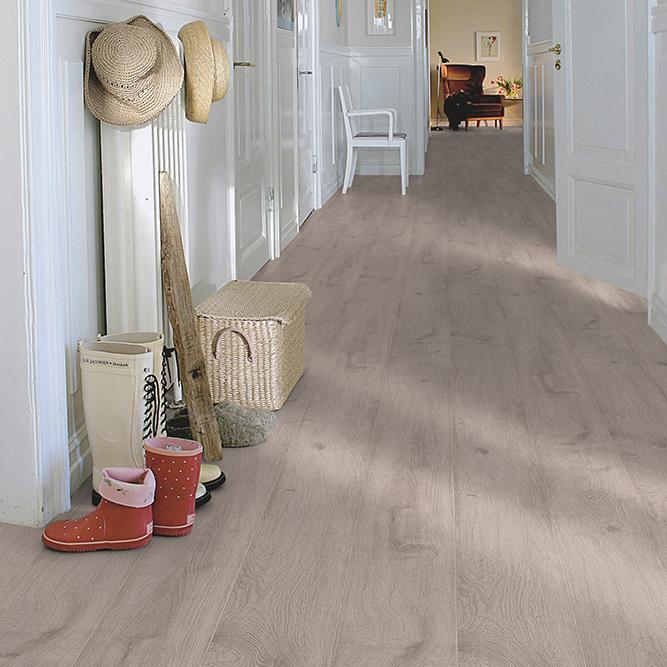 Laminatgolv Pergo Classic Plank 2v Sandfärgad Ek 1-Stav