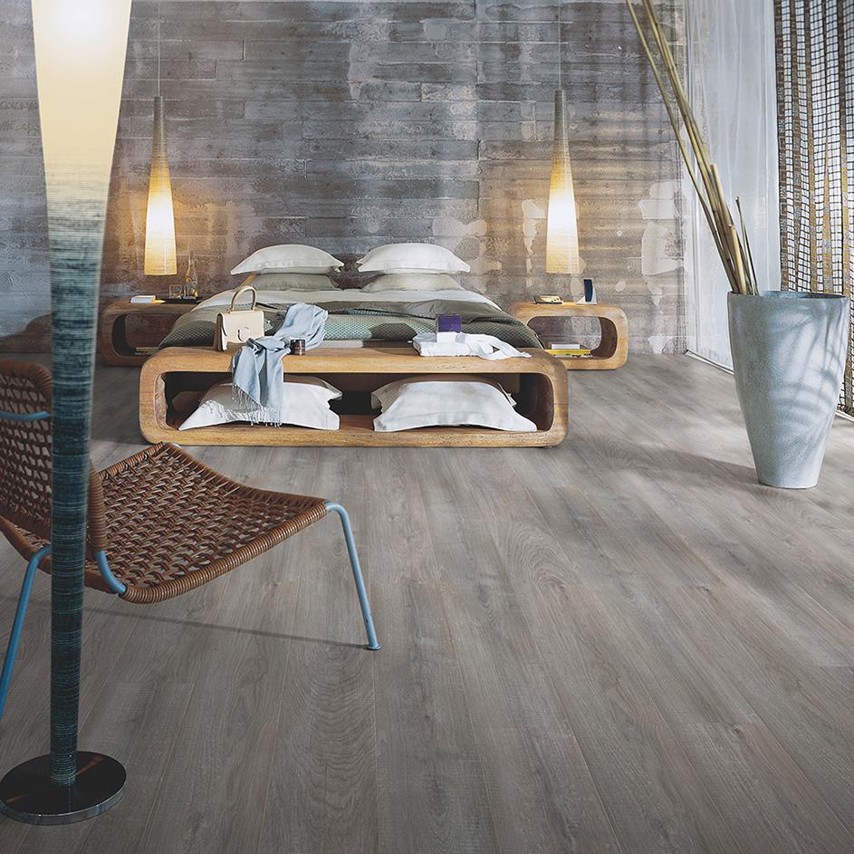 Laminatgolv Pergo Classic Plank 4v Kalkad Grå Ek 1-Stav