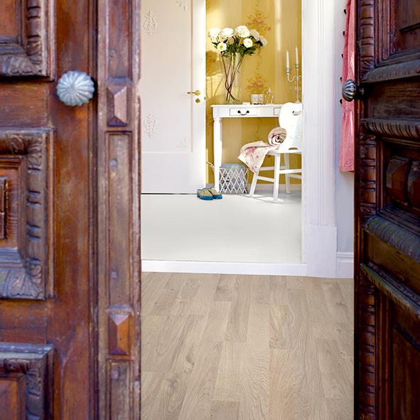 Laminatgolv Pergo Classic Plank Linnen Oak 2-Stav
