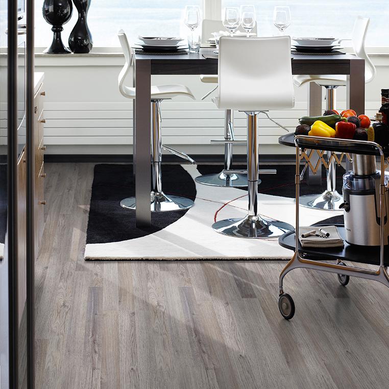Laminatgolv Pergo Classic Plank Grey Oak 3-Stav