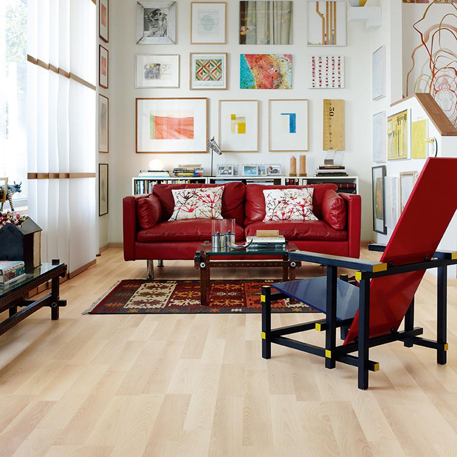 Laminatgolv Pergo Classic Plank Nordic Ash 2-Stav