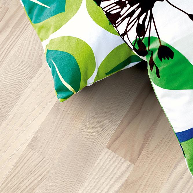 Laminatgolv Pergo Classic Plank Nordisk Ask Vit 3-Stav