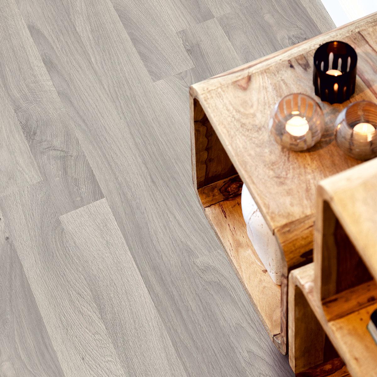 Laminatgolv Pergo Classic Plank Nordic Grey Oak 2-Stav