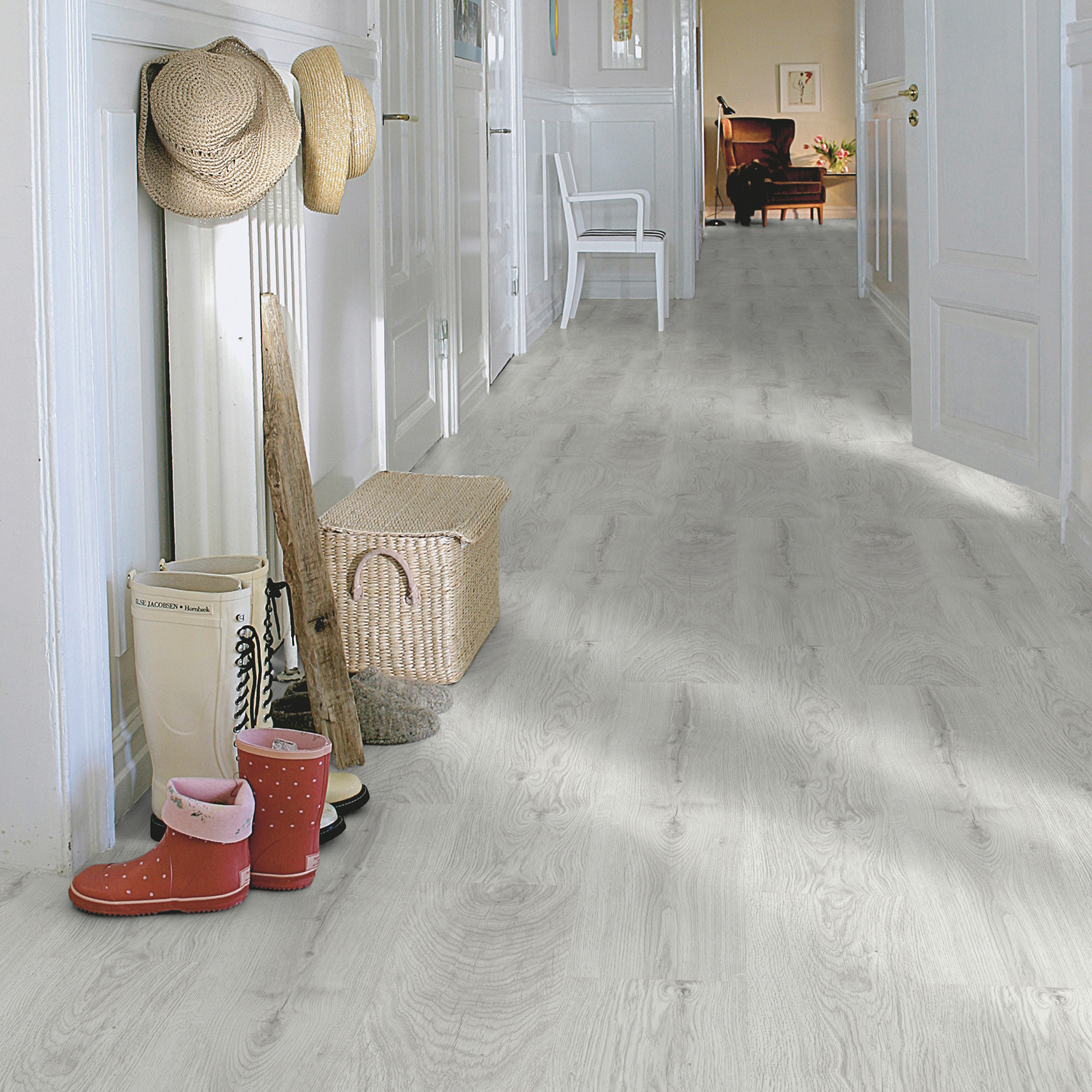 Laminatgolv Pergo Classic Plank Silver Oak 1-Stav