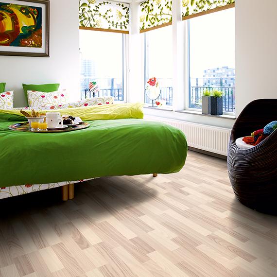 Laminatgolv Pergo Classic Plank Nordic White Ash 3-Stav