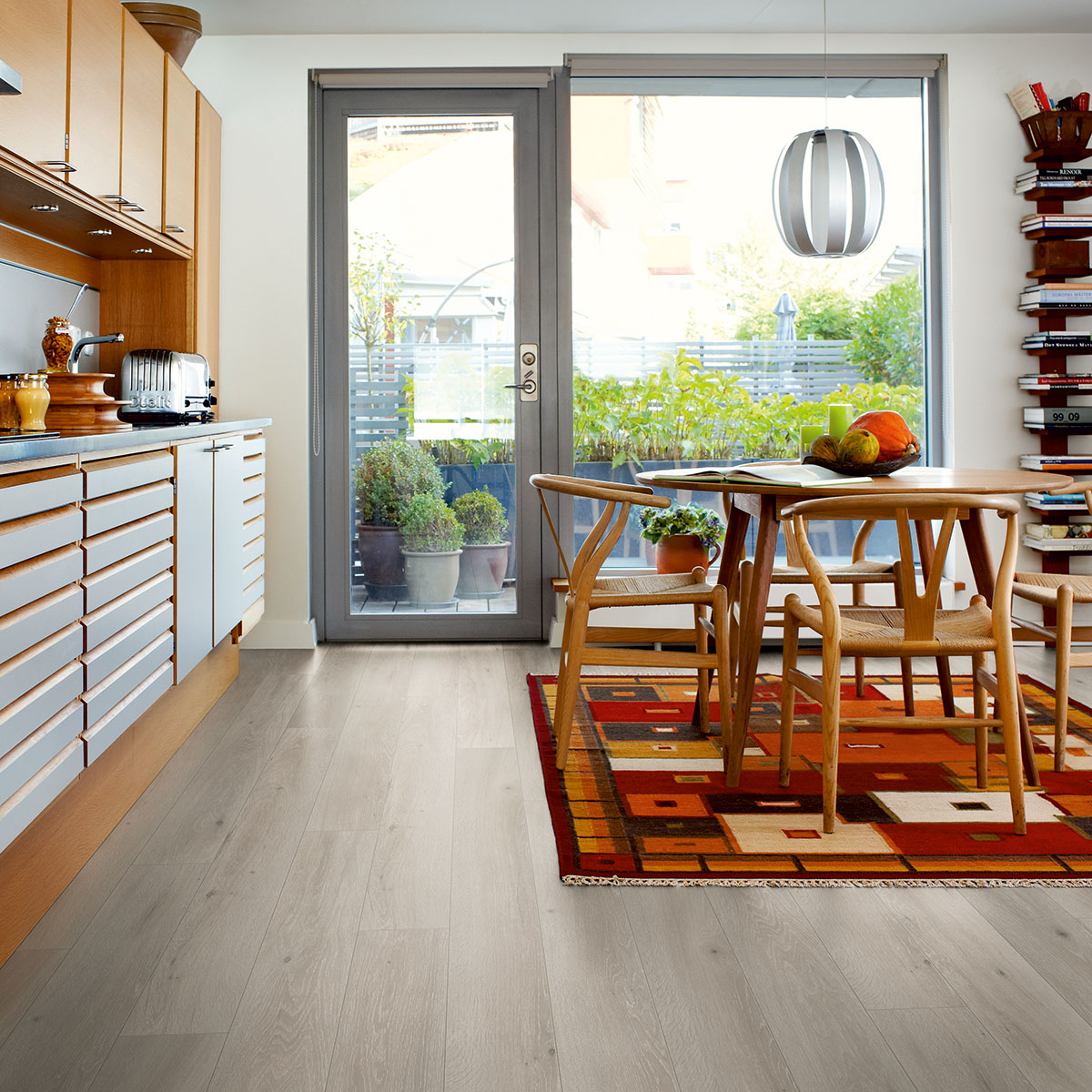 Laminatgolv Pergo Long Plank 4V Cottage Grey Oak 1-Stav