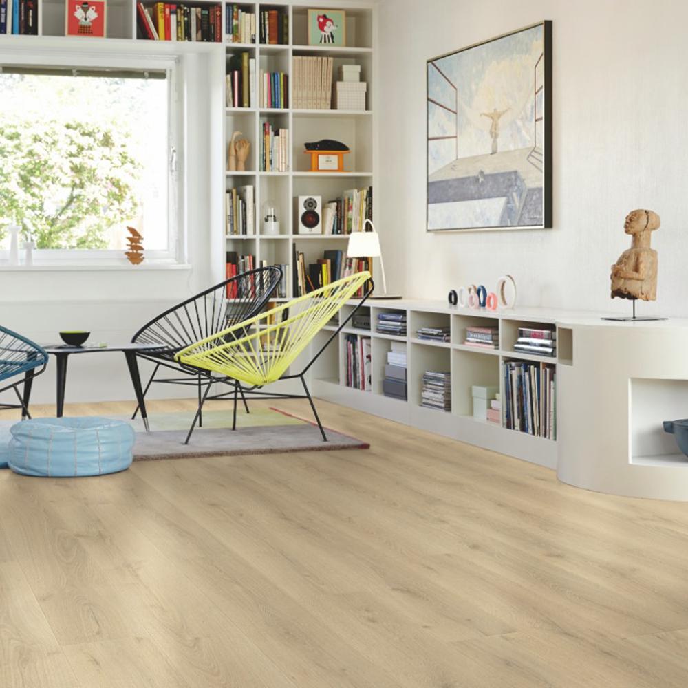 Laminatgolv Pergo Modern Plank 4V - Sensation City Oak 1-Stav