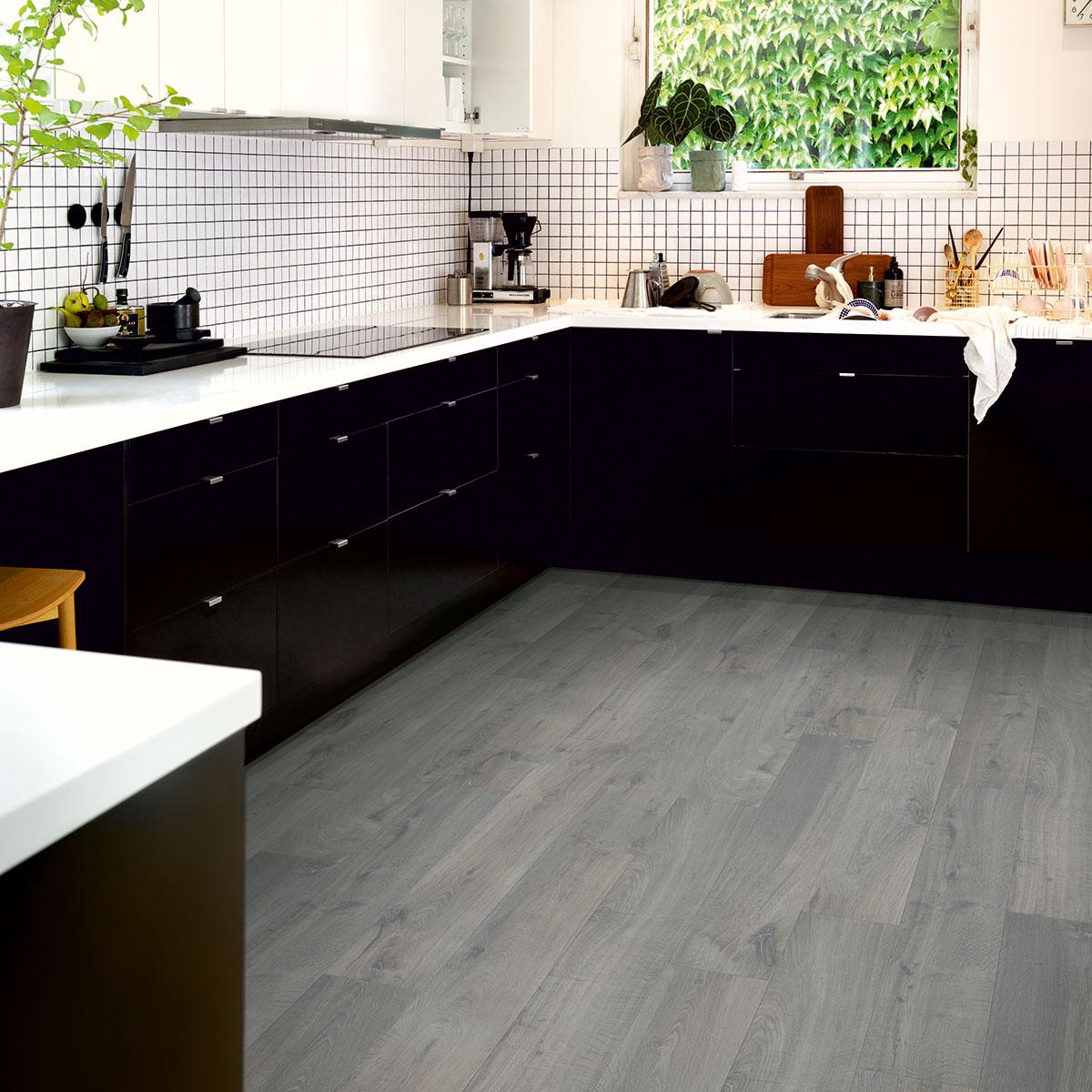 Laminatgolv Pergo Modern Plank 4V - Sensation Urban Grey Oak 1-Stav