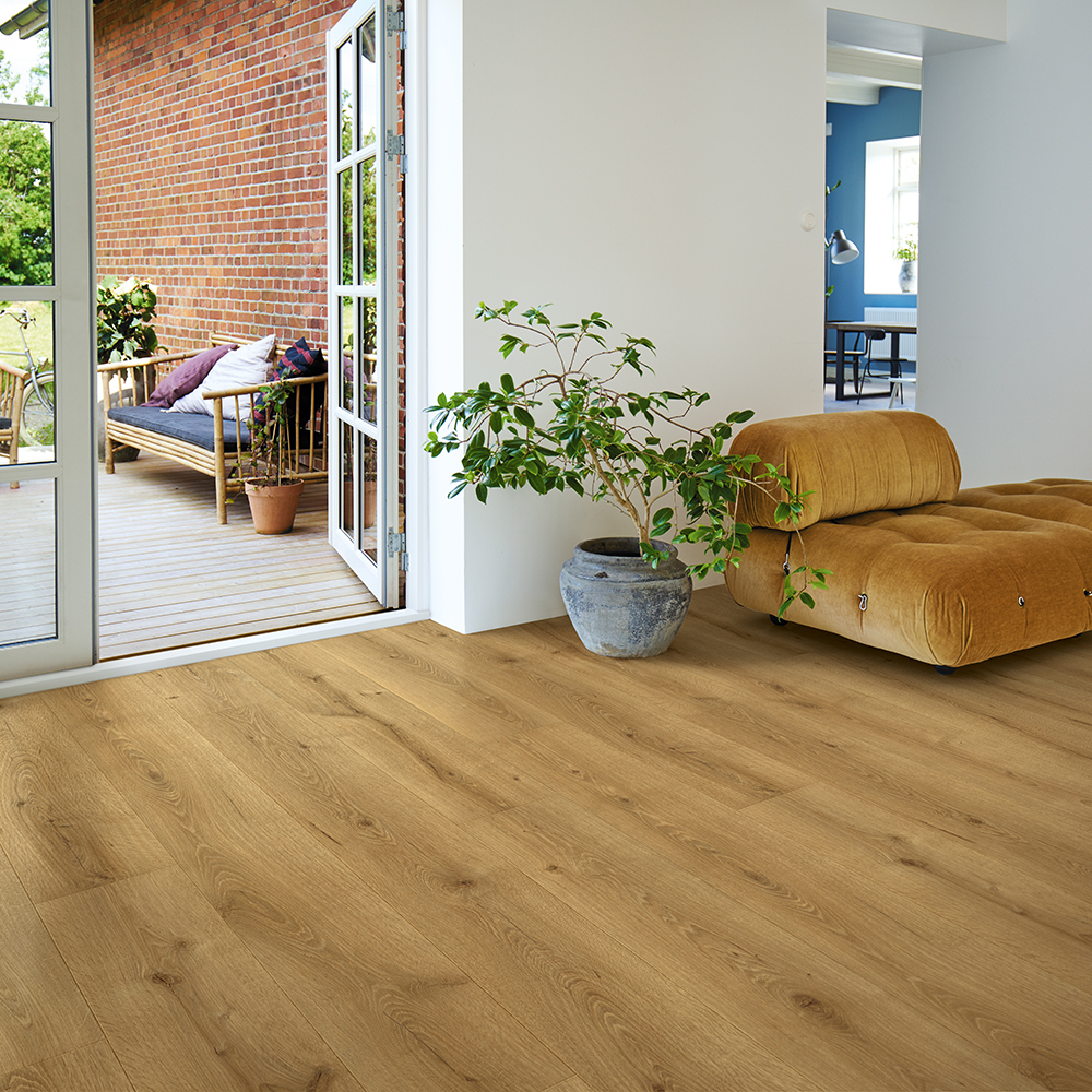 Laminatgolv Pergo Wide Long Plank 4V - Chateau Oak