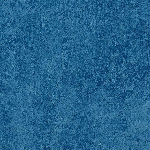 Linoleumgolv Forbo Marmoleum Modular Colour Blue