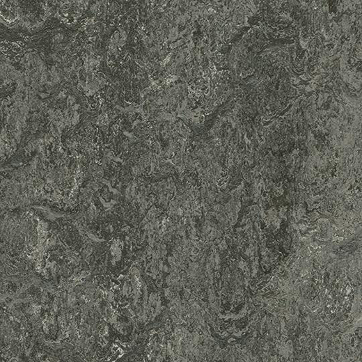 Linoleumgolv Forbo Marmoleum Modular Marble Graphite