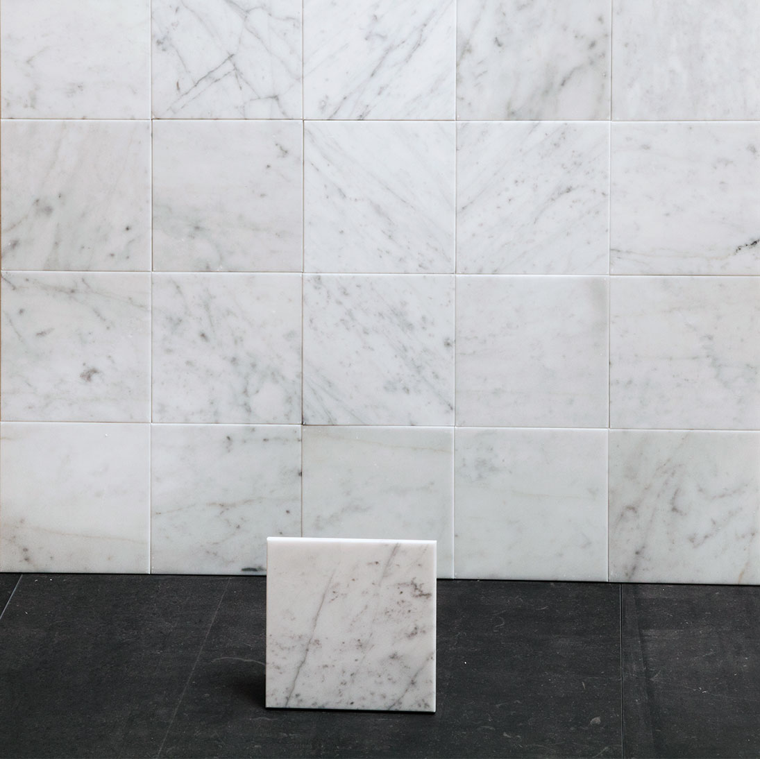 Marmor Bianco Carrara C Honed 15×15 cm