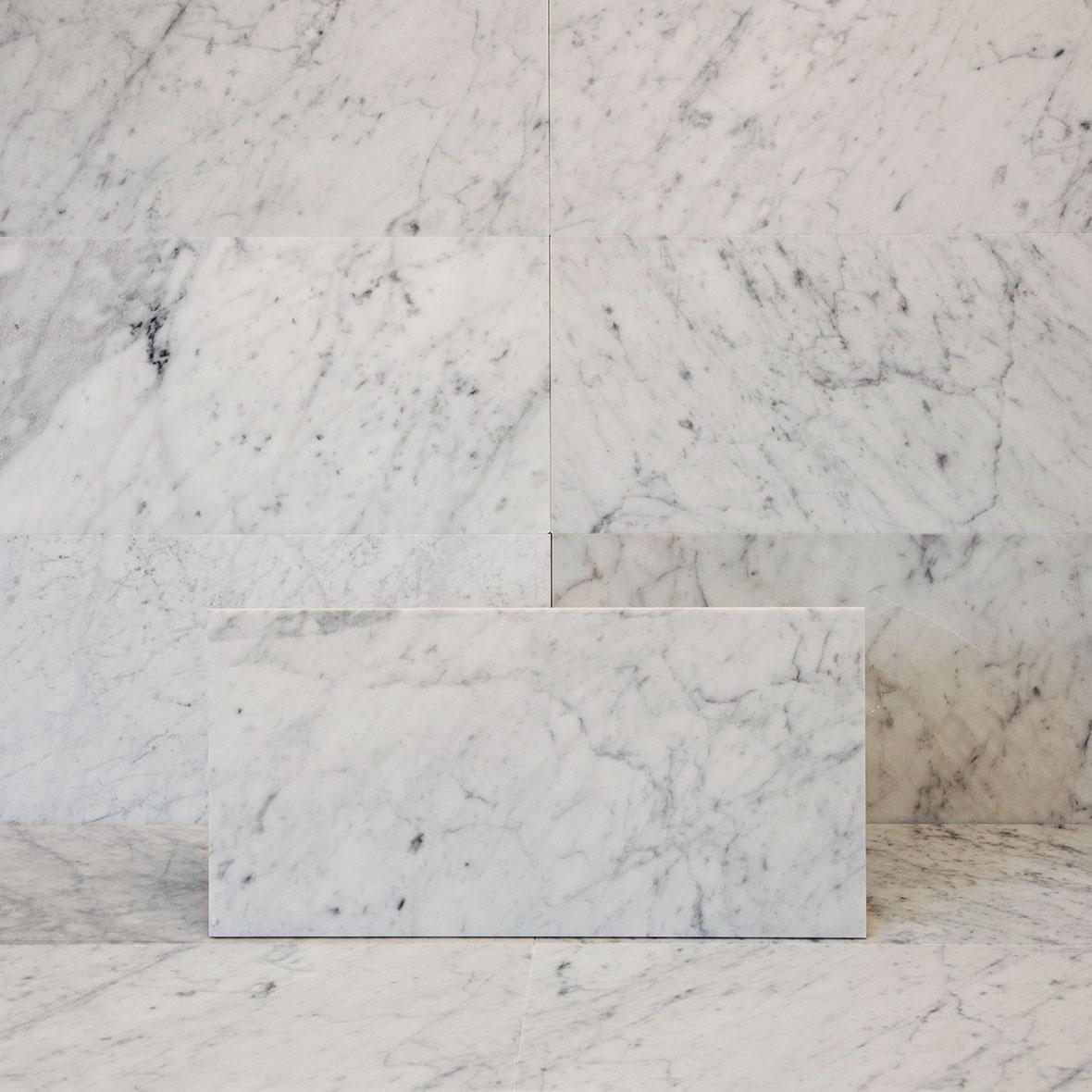 Marmor Bianco Carrara C Honed 31x61 cm