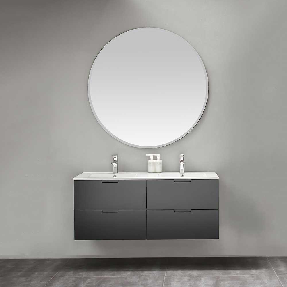 Möbelpaket Bathlife Glädje med Spegel Svart