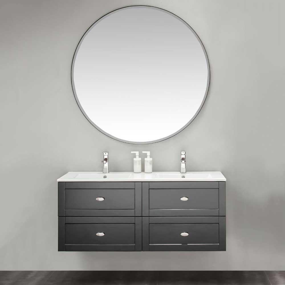 Möbelpaket Bathlife Salig med Spegel Svart