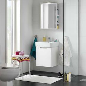 Møbelpakke Hafa One 440 Hvit Matt Speil med oppbevaring