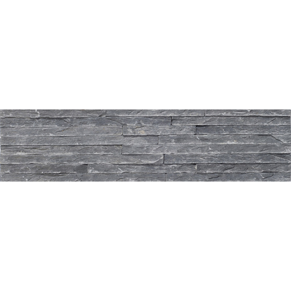 Natursten Skifferpanel Slate Black 10×40 cm