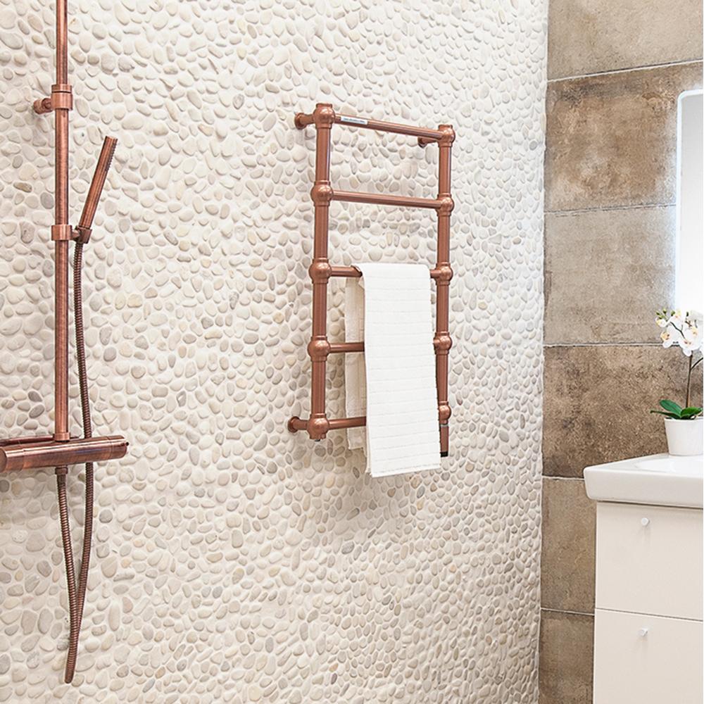 Natursten Stone Pebbels White 30x30 cm