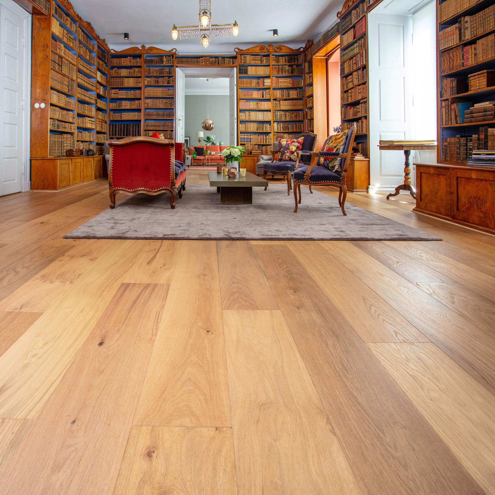 Trägolv Nordic Floor Ek Grand Country Mattlackad 1-stav