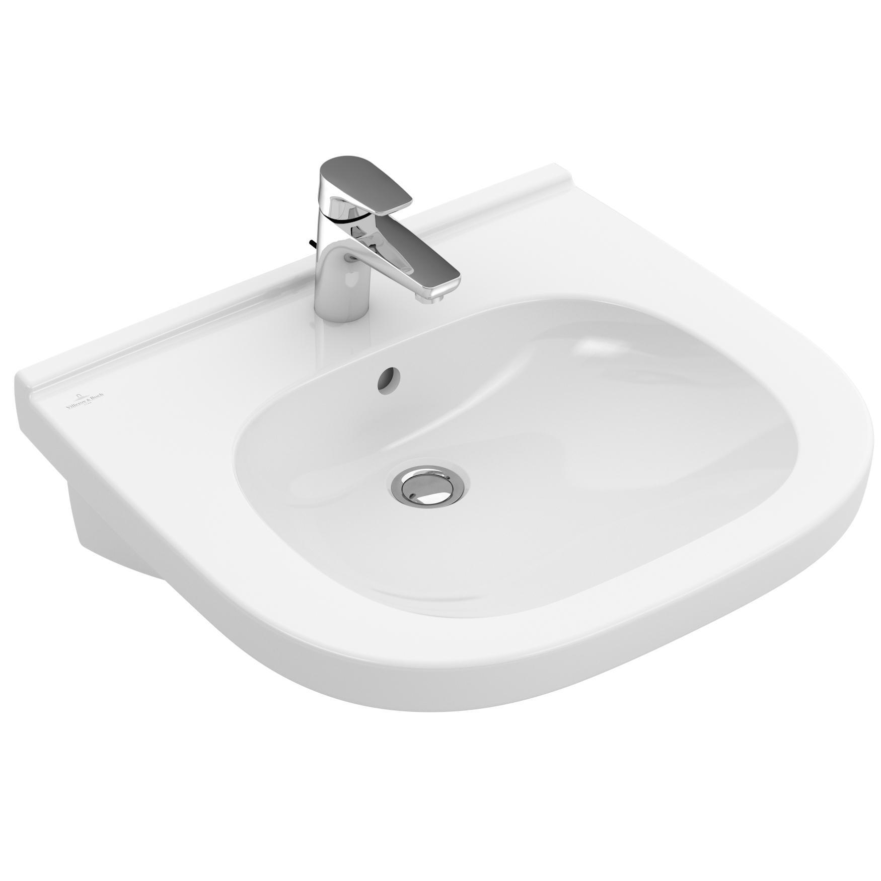 Tvättställ Villeroy & Boch O.novo Vita Ovalt