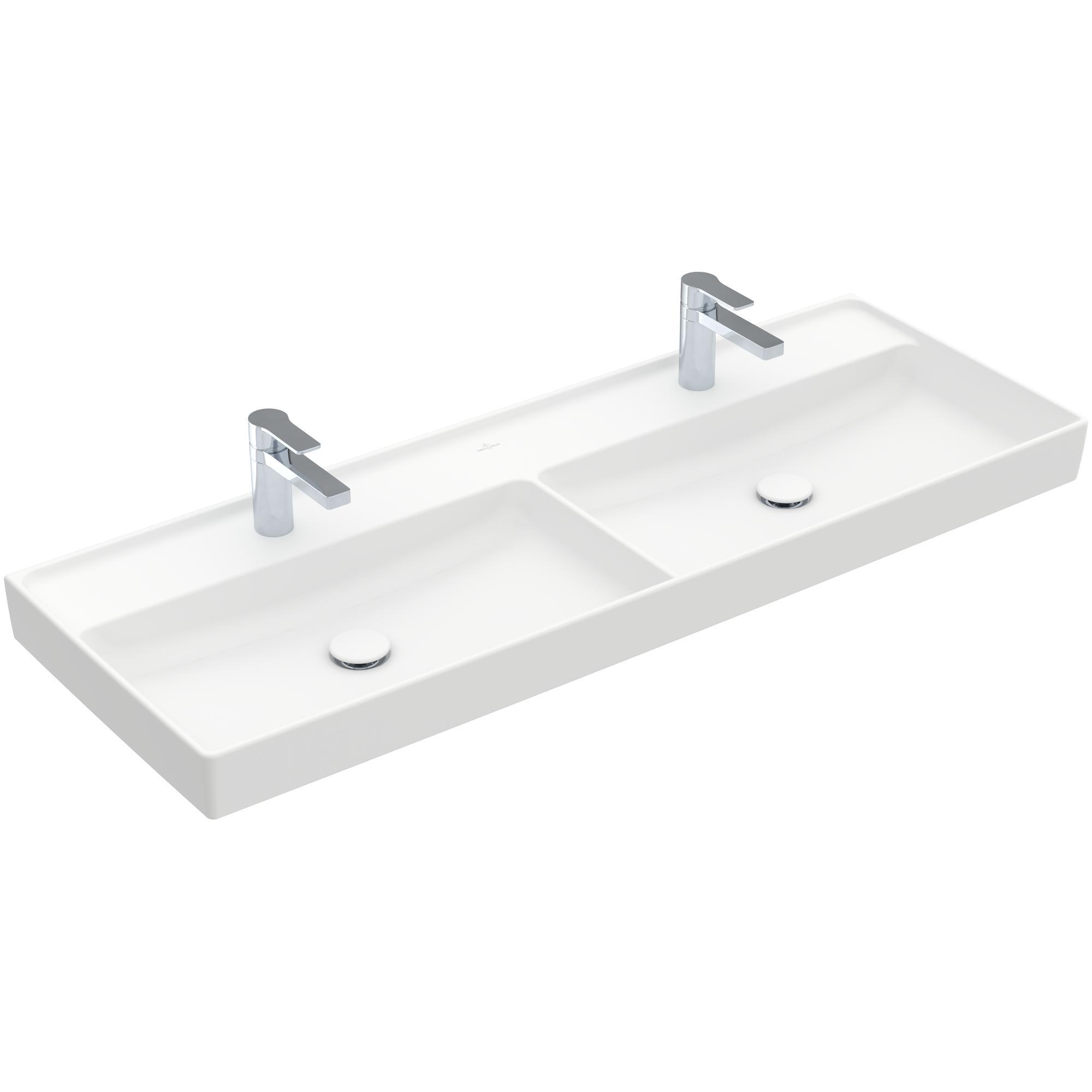 Tvättställ Villeroy & Boch Collaro 1300 mm Dubbelt