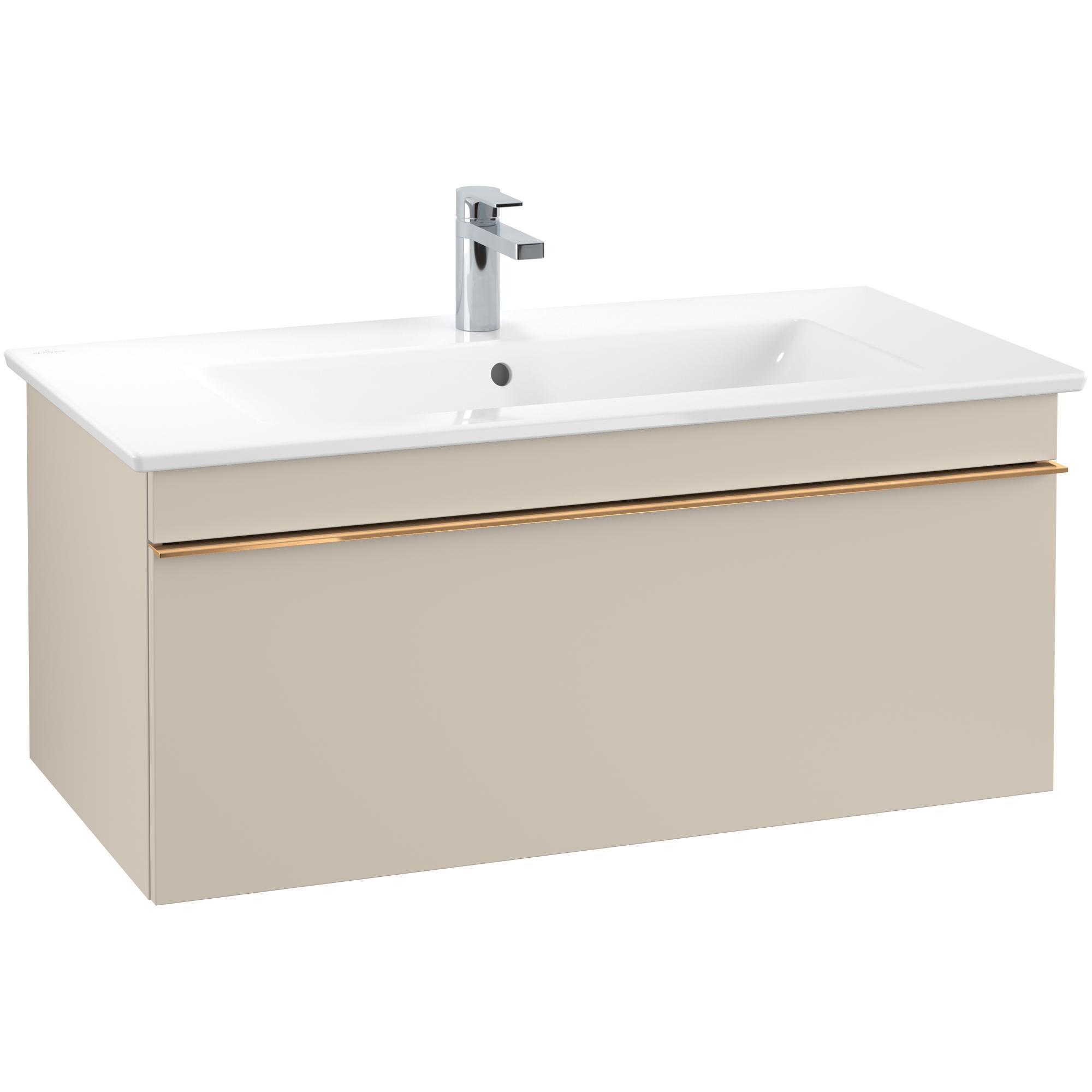 Tvättställsskåp Villeroy & Boch Venticello med 1 Låda för Skåpstvättställ