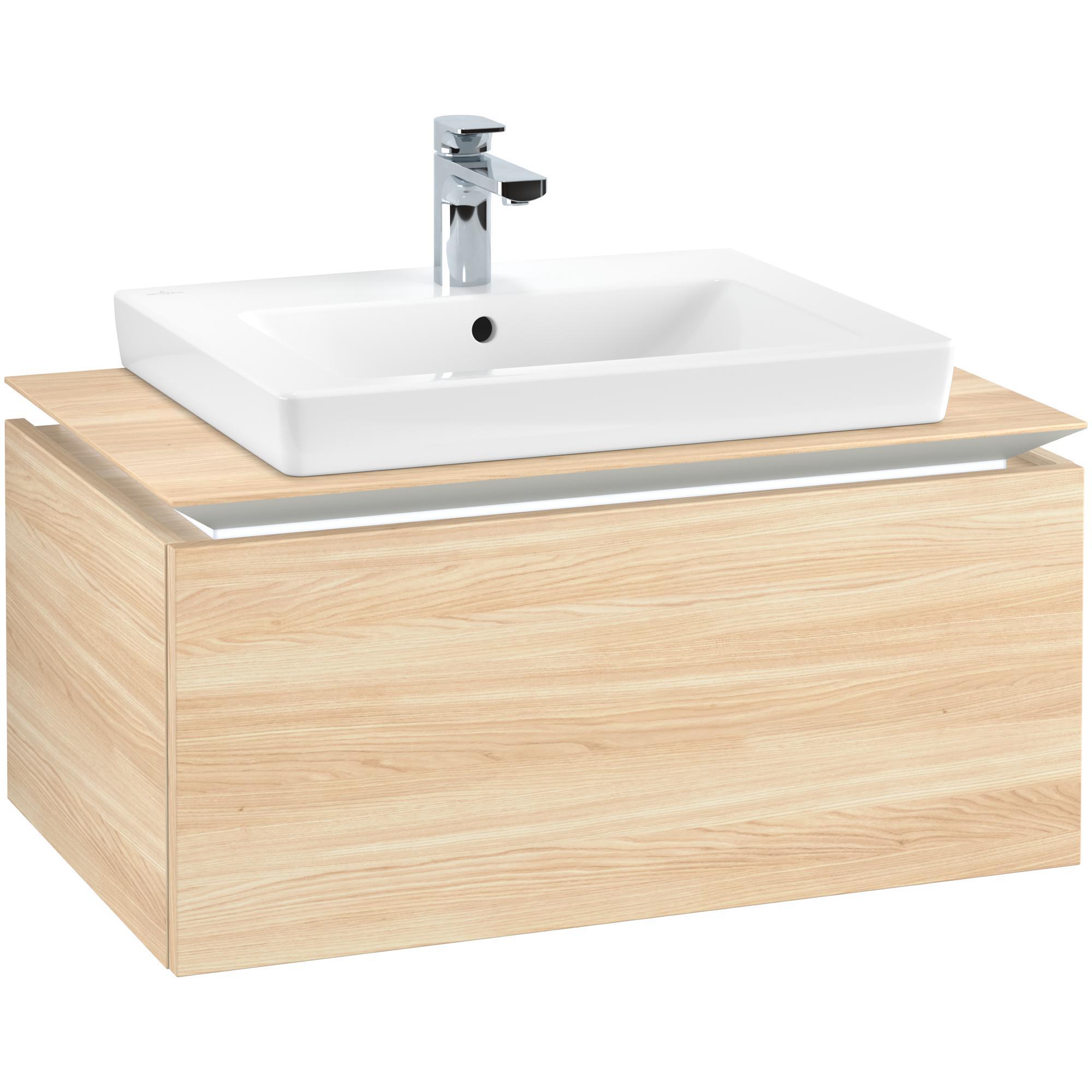 Tvättställsskåp Villeroy & Boch Legato Kompakt 800 med 1 Låda för Tvättställ från Finion & Subway