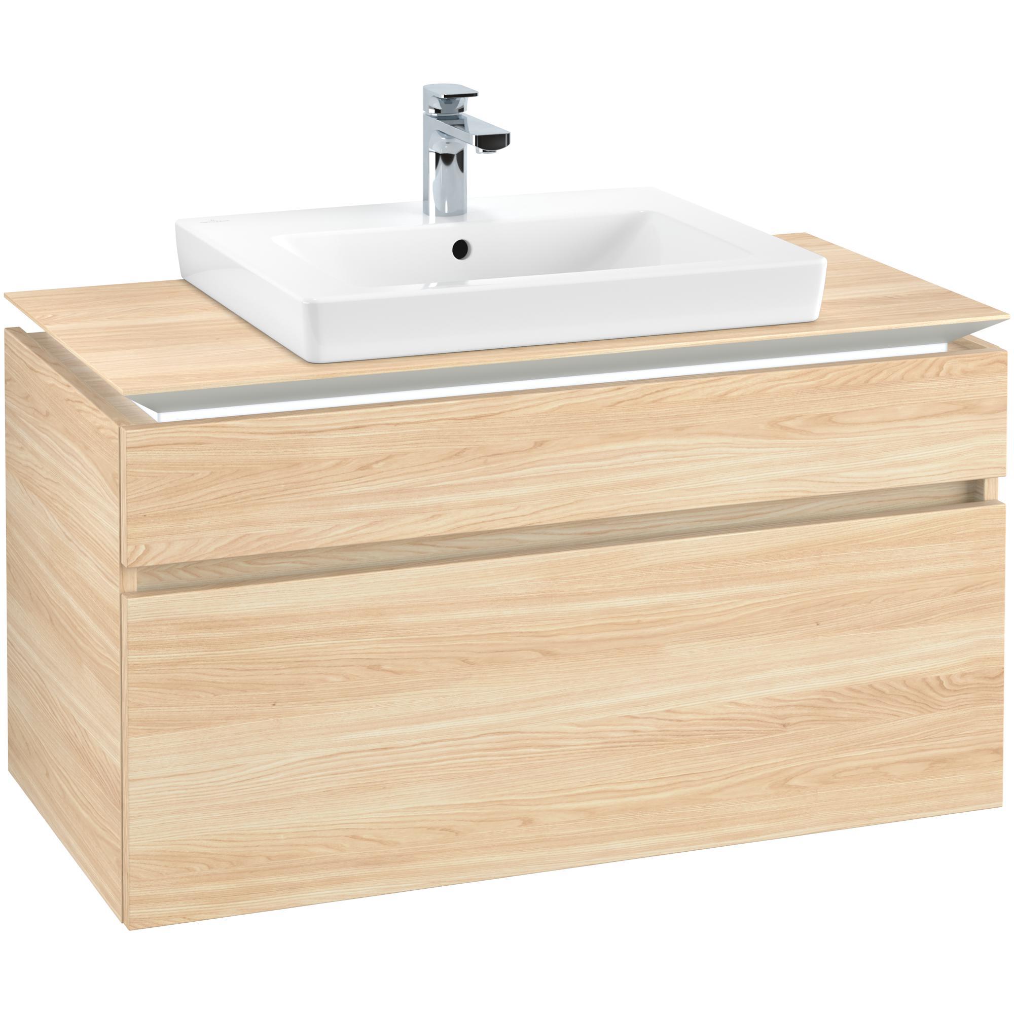 Tvättställsskåp Villeroy & Boch Legato 1000 med 2 Lådor för Tvättställ från Finion & Subway