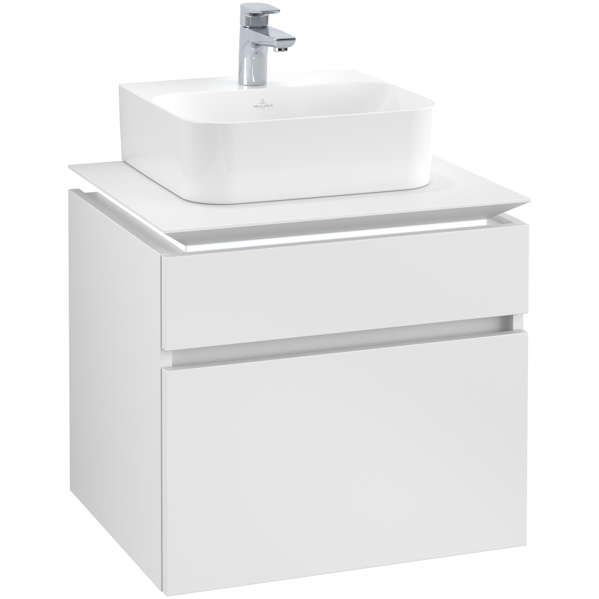 Tvättställsskåp Villeroy & Boch Legato 600 med 2 Lådor för Tvättställ