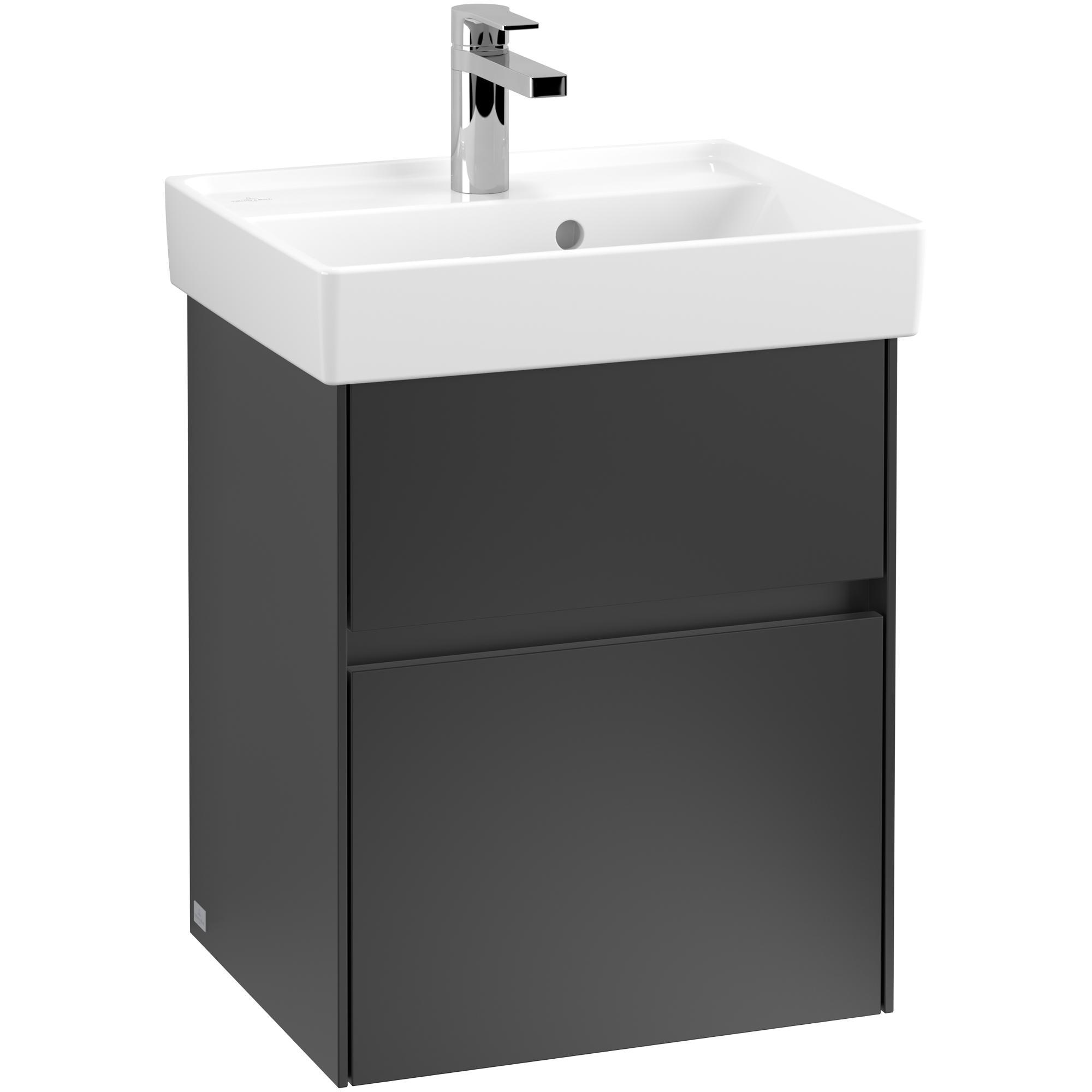 Tvättställsskåp Villeroy & Boch Collaro med 2 Lådor för Inbyggt Tvättställ