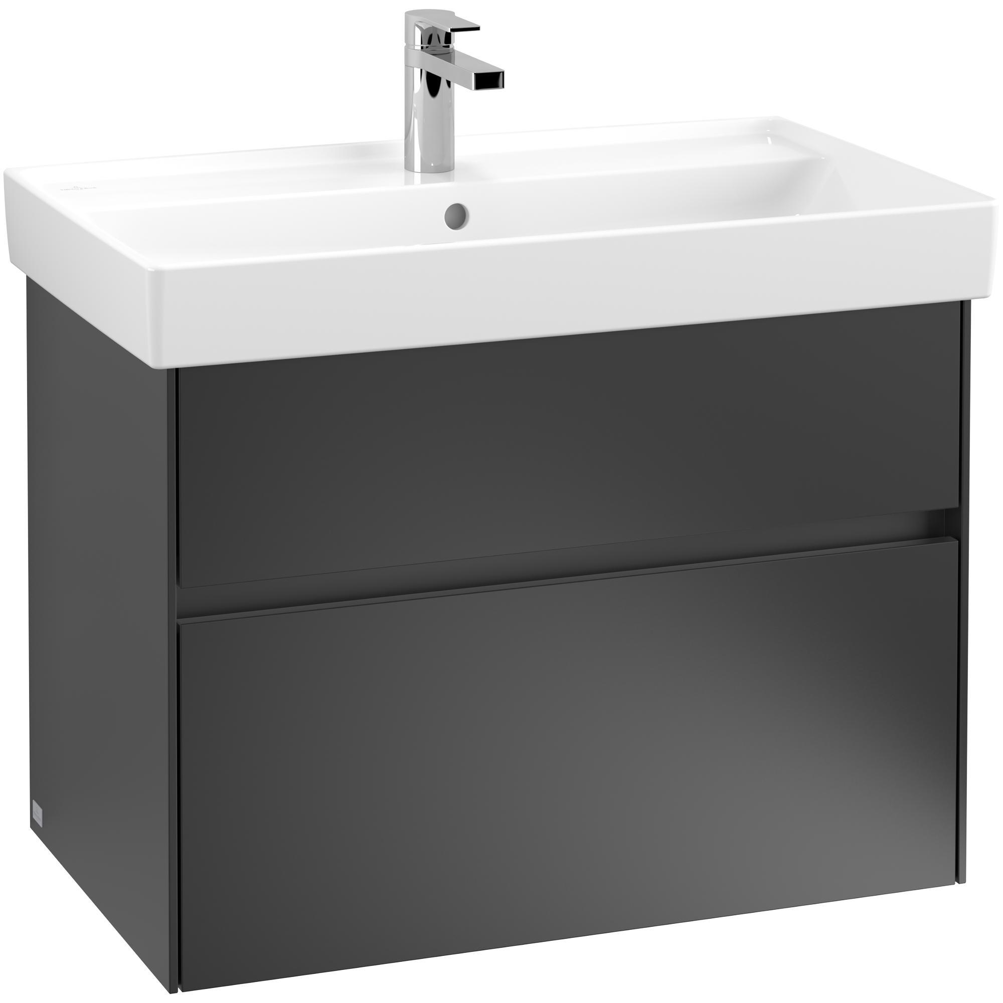 Tvättställsskåp Villeroy & Boch Collaro med 2 Lådor för Inbyggt Skåpstvättställ