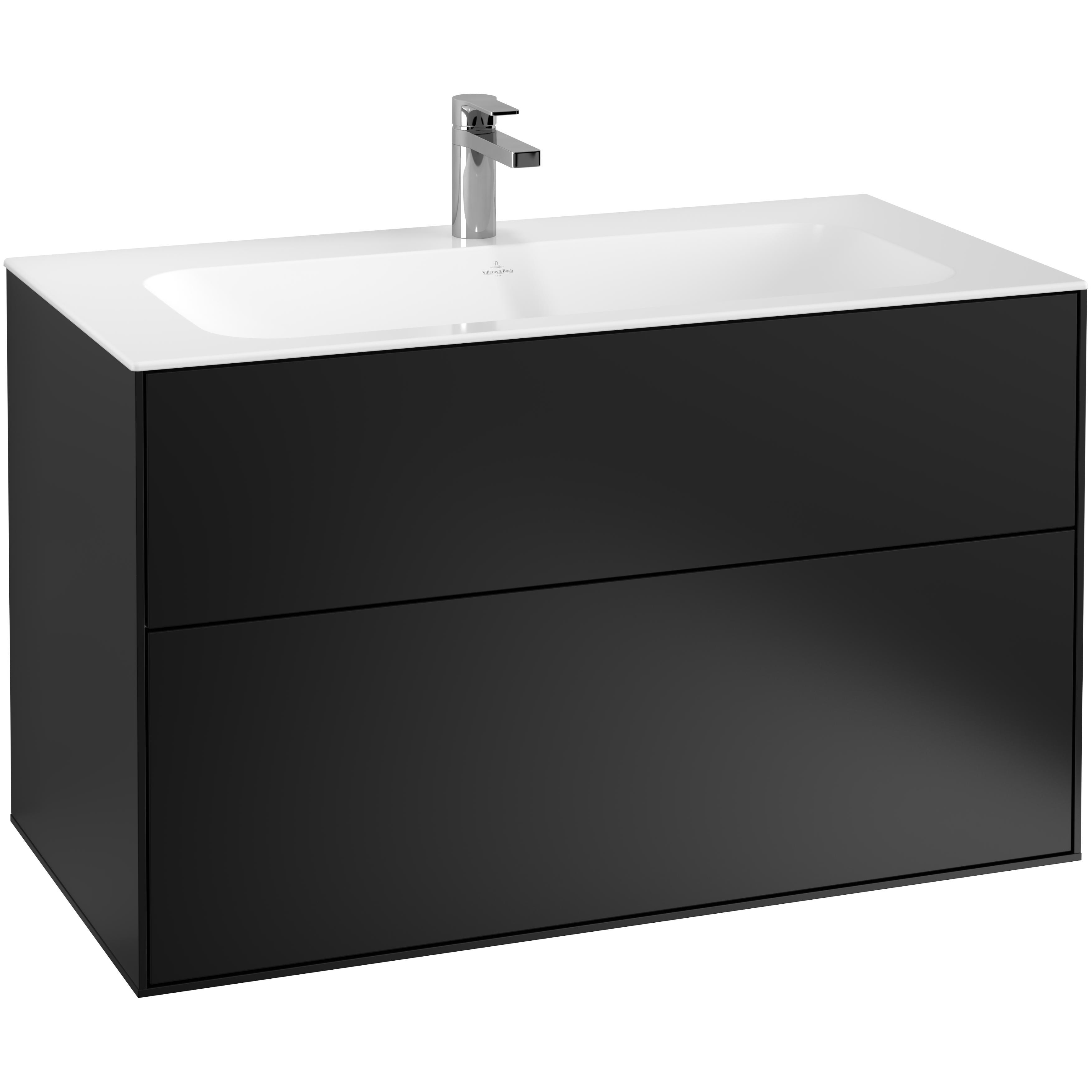 Tvättställsskåp Villeroy & Boch Finion med 2 Lådor för Inbyggt Tvättställ