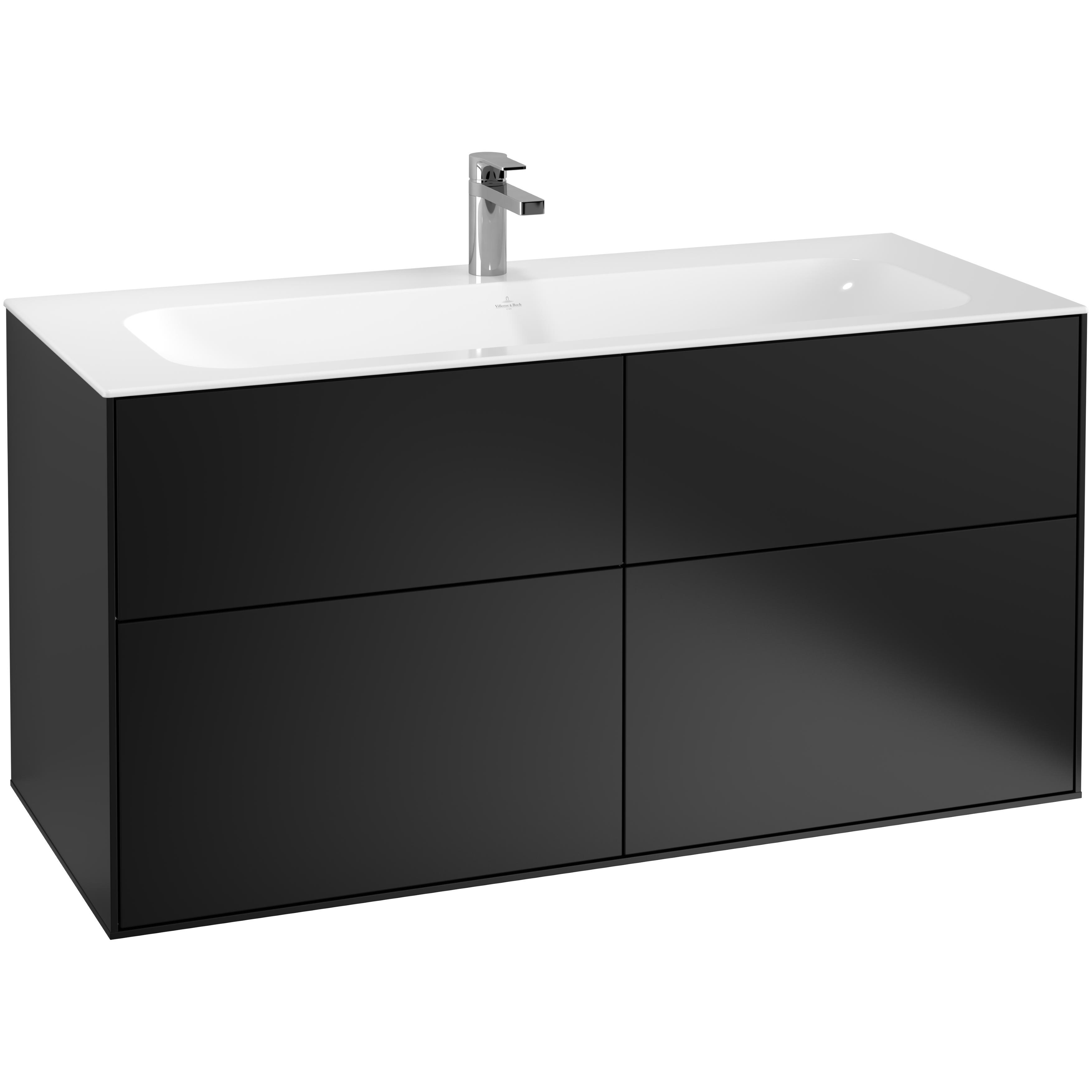 Tvättställsskåp Villeroy & Boch Finion med 4 Lådor för Inbyggt Tvättställ