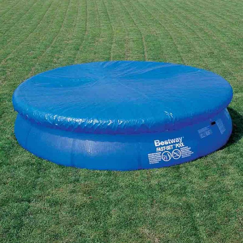 uppblåsbar pool med lock