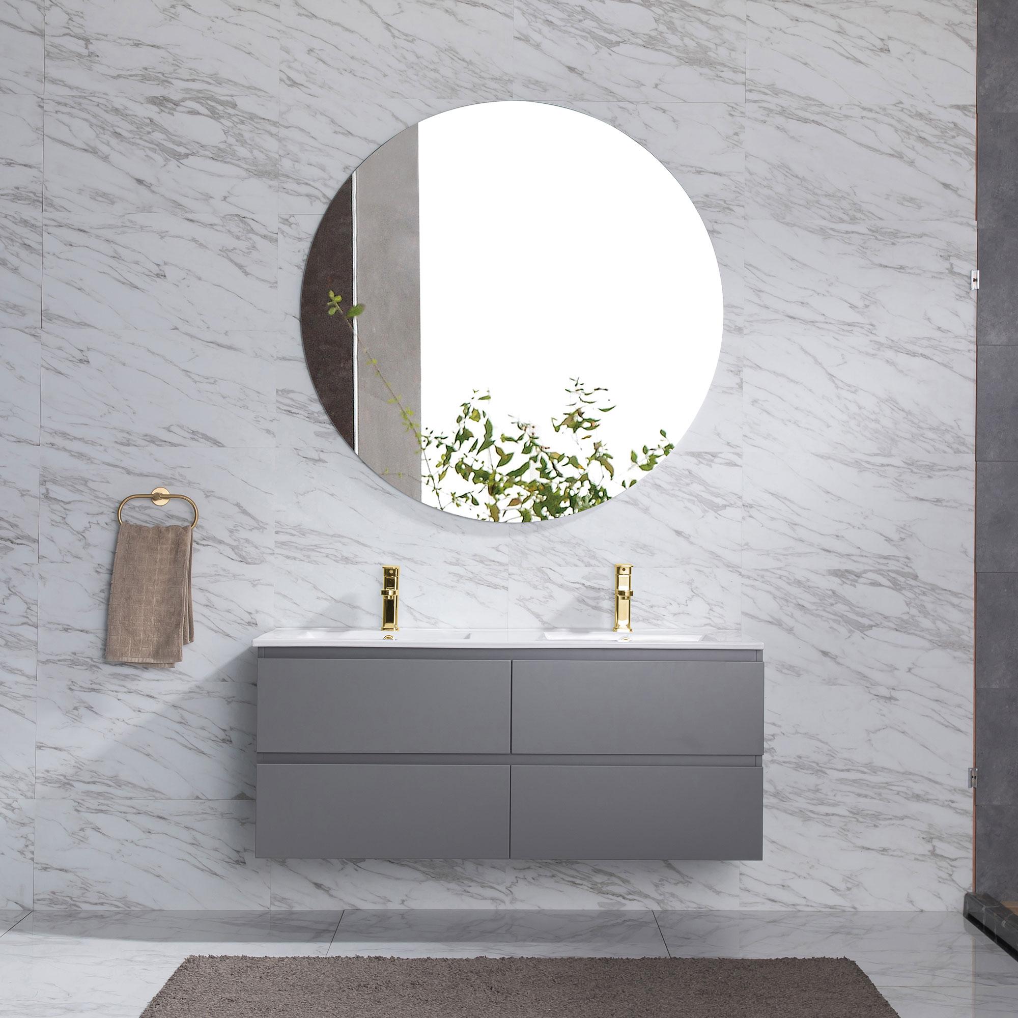 Tvättställsskåp Bathlife Eufori Grå