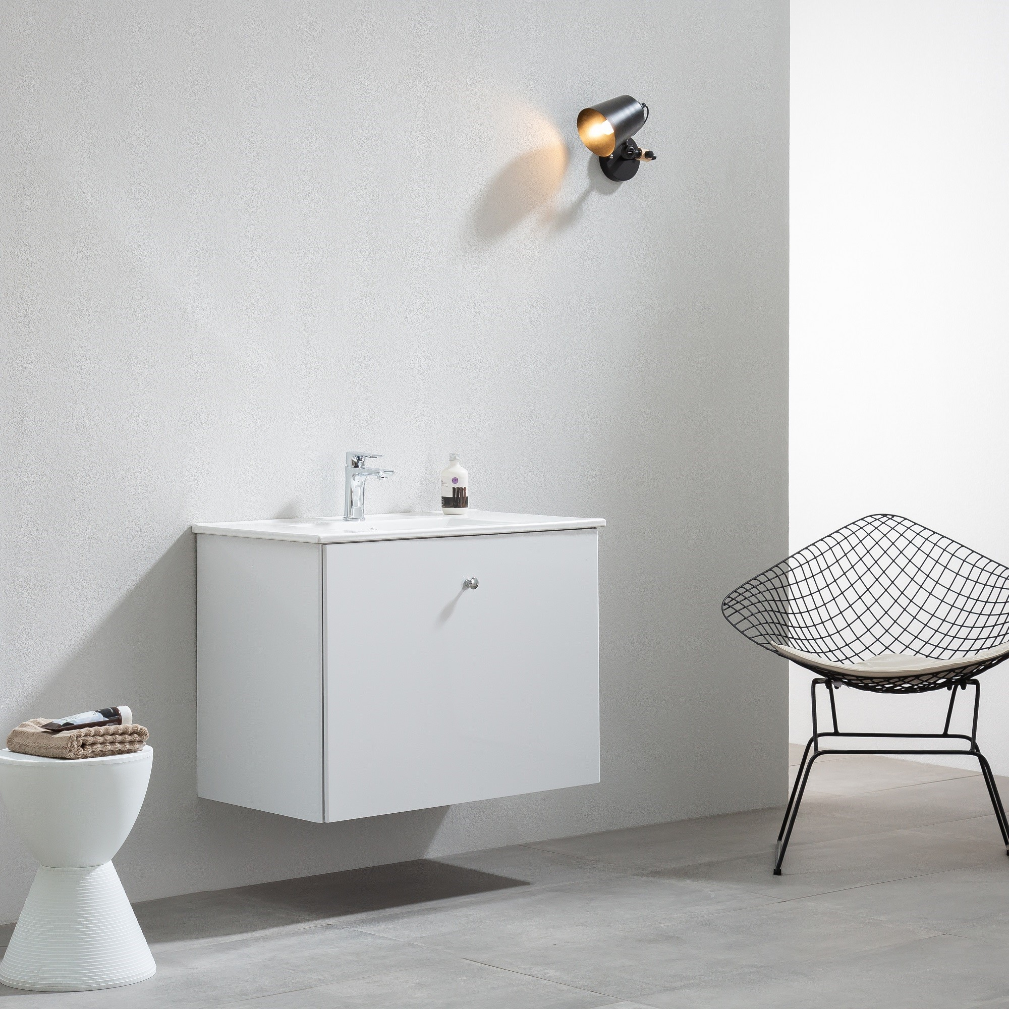 Tvättställskåp Bathlife Fröjd Vit